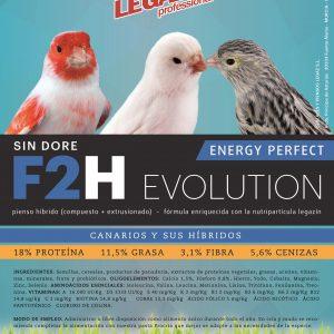 Energy Max. Pienso híbrido (compuesto + extrusionado). Fórmula enriquecida con la nutripartícula Legazín. Con Aminesent. Sin doré.