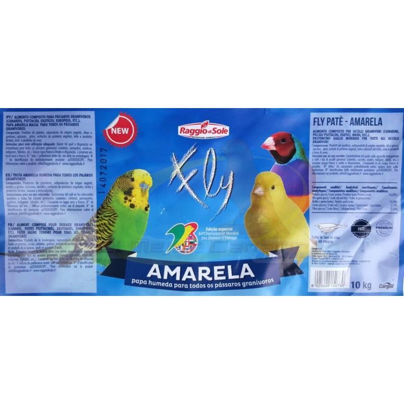 pasta-humeda-amarela-raggio-di-sole-10kg