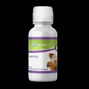 Hepatic Hepatic HEPATIC Hepatic Avianvet es un protector hepático líquido que se añade al agua de bebida, durante el tratamiento y la prevención de las diferentes enfermedades del hígado de los pájaros. Hepatic Avianvet está compuesto DL carnitina, Betaína y sorbitol que ejercen una gran protección hepática.