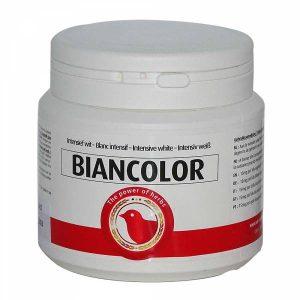 Biancolor colorante para canarios blancos