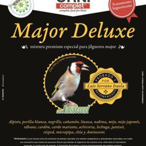 major deluxe legazin latiendadelcanario.com 800 gramos 4 kilos. mixturas para jilgueros.