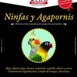 mixtura agapornis ninfas y periquitos legazin,