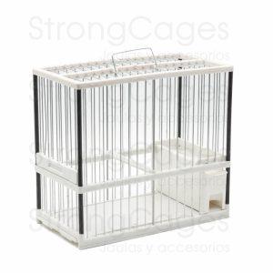 jaula c1 transparente cristal