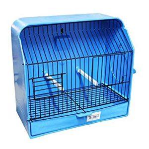 Jaula concurso canarios color y fondo azul latiendadelcanario.com