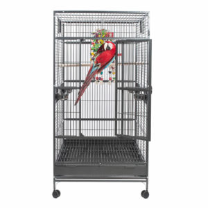 jaula para loros single macaw