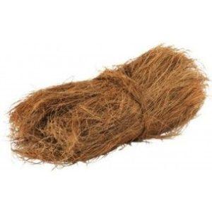 Pelo de Coco para nidos exoticos, y psitacidas,
