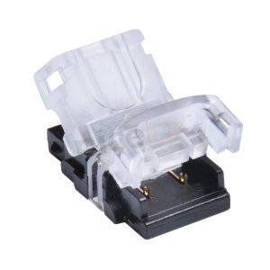 conexion rapida, para tira leds con enganche cable de 10 mm.