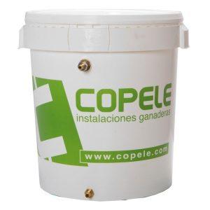 Desposito profesional Copele de 32 litros de capacidad.