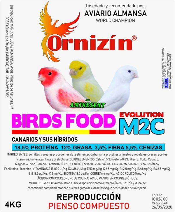 M2C pienso Ornizinc M2C Cria 2019