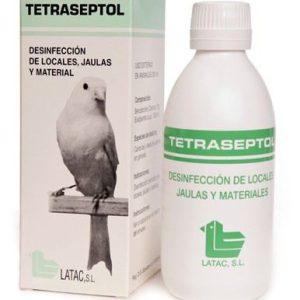 Tetraseptol Desisfeccion de locales jaulas y materiales