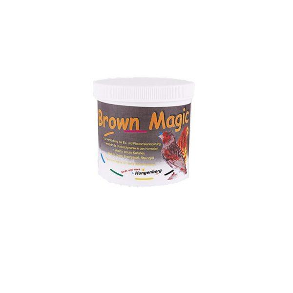 brown-magic feomelanina para aves marrones latiendadelcanario.com 500 gramos
