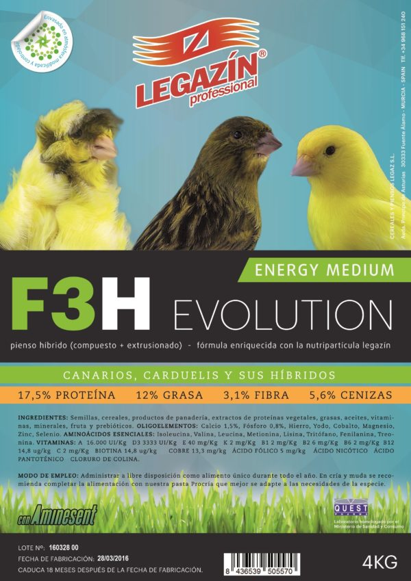 f3 ENERGY PERFECT EVOLUTION