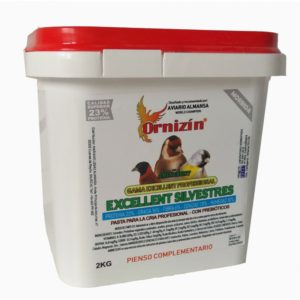 pasta-excellent-silvestres-ornizin 2 kilos jilgueros, profesional silvestre