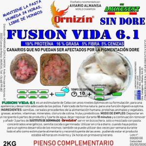 Fusion vida, no dore, latiendadelcanario ceba no dore de pajaros.
