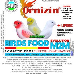 M2M Pienso mantenimiento Ornizin 4 KGrs no dore