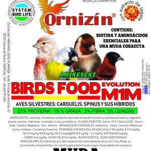 M1M MUDA ornizin muda espcecial fauna europea y exoticos.