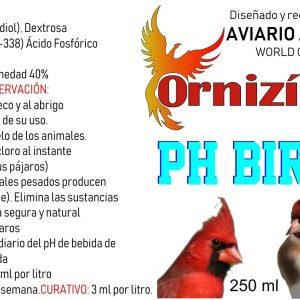agua-bird-250ml acidificante del agua ornizin
