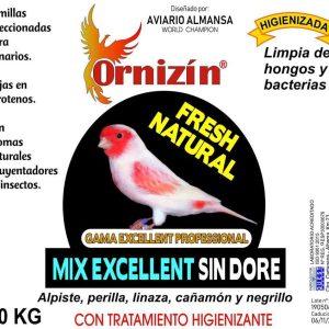 Mixtura Sin Dore Ornizin 20 Kilos con tratamiento antimoho y antiinceptos sin dore Ornizin